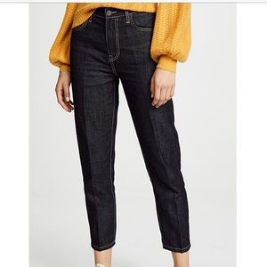 Currrent/Elliott the vintage cropped slim jean 30
